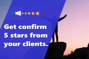 How to get 5 star reviews from you freelance client